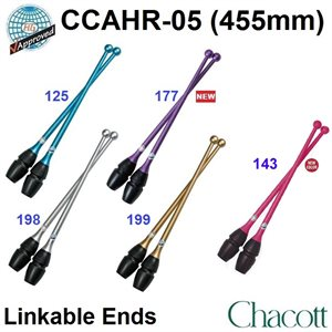 Chacott Hi-grip Rubber Clubs (455 mm) (Linkable ends) 301505-0005-58
