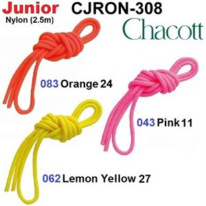 Chacott Junior Gym Rope (Nylon) (2.5 m) 301509-0008-58