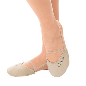 Chacott Medium (M) Polyester Pointed Tip Beige Half Shoes 5389-06002