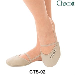 Chacott Polyester Pointed Tip Beige Half Shoes 5389-06002