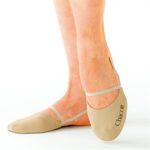 Chacott Small (S) Beige High Cut Stretch Half Shoes 301070-0003-98