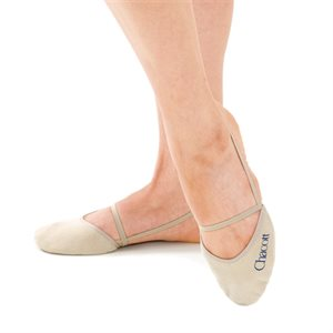 Chacott Medium (M) Washable Stretch Half Shoes (Synthetic Leather) 301070-0004-18