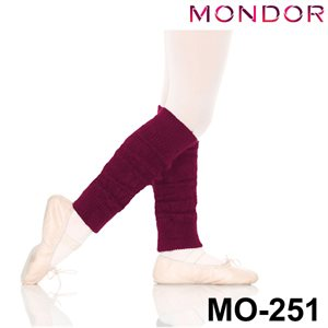 "Mondor Dark Purple 14"" Junior Legwarmers 00251"