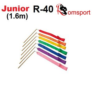 Romsports Ribbon (1.6m x 4cm) & Stick (30 cm) Set R-40