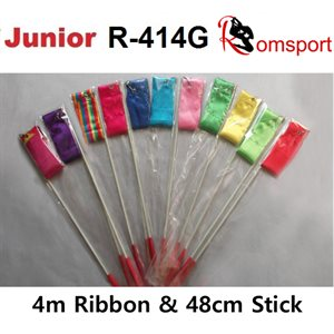 Romsports Ribbon (4m) & Stick (48 cm) Set R-414G
