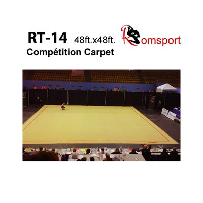 Rhythmic Gymnastics Floor RT-14 (Contact us for more information)