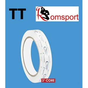 Romsports Crystal Clear Transparent Tape (19mm x 65.8m) TT