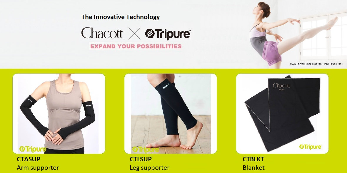 ChacottXTripure